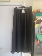 Bnwt H&M Black Long Skirt Size 16