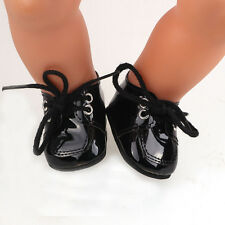 new 1set Doll black shoes for 43cm Baby Born zapf (only sell clothes ) B675