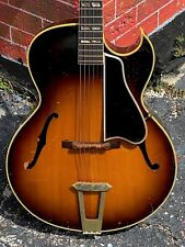 1956 Gibson L-4C Cutaway an all original example that plays & sounds fabulous !
