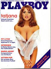 Playboy Februar/02/1994  TATJANA SIMIC*
