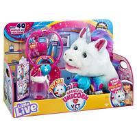 Little Live Pets RAINGLOW Unicorn Vet Set Electronic Pet Playset