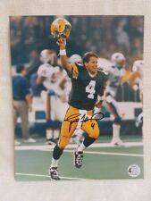 Brett Favre Super Bowl XXXI Signed Green Bay Packers 8X10 Vertical Photo
