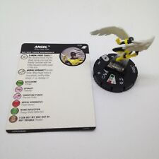 Heroclix X-Men Xavier's School set Angel #033 Rare figure w/card!