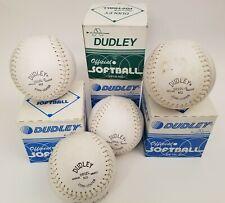 Dudley Softball Sb12Lnd & Sb12L-S Cork Center Asa Approved Made in Haiti Vintage