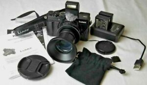 Panasonic Lumix DC-LX100M2 Compact Camera with Additional Accessories.