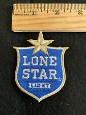 Lone Star Light Beer Patch