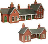 Metcalfe PO237 Country Station Card Kit OO/HO Gauge