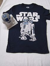 New - Collectible R2D2 figure, Mens Star Wars T-Shirt inside, (size - medium)