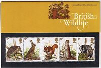 GB Presentation Pack 96 1977 British Wildlife