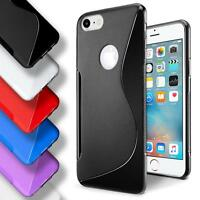 Apple iPhone 7 8 Silicone Gel S Line Case Cover Ultra Thin Slim Back Bumper