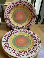 "Home AMERICAN SIMPLICITY VILLA 11 1/2"" Dinner Plates Set(s) of 4"
