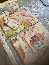 M&S Tweet Twoo Owl 2 Sets Of Single Bedding Sets Girls Bedroom