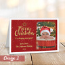 Personalised Christmas Cards | Pack Of A6 Folded Cards | With Photo + Envelopes