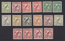 New Guinea. SG 177-186, 1d to 2/-. Mounted mint.