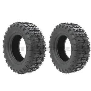 Pair 13x5.00-6  Tires Tubless 13x5-6 for Mini Bike Go Kart Scooter ATV 4 Wheeler