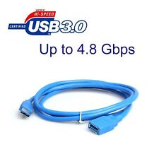 3ft USB 3.0 High Speed SuperSpeed Extension Cable A Male to A Female