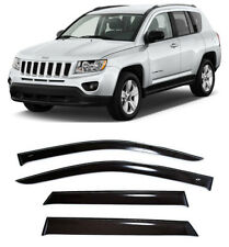 For Jeep Compass 2010-2016 Window Side Visors Sun Rain Guard Vent Deflectors