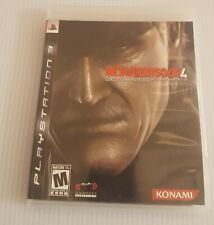 Metal Gear Solid 4: Guns of the Patriots (Sony PlayStation 3, 2008 PS3) Complete