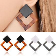 Chic Fashion Women Acrylic Geometric Dangle Drop Statement Earrings Jewelry Gift
