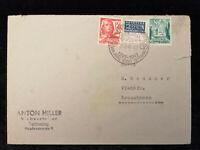Deutschland Alliierte Besetzung 25.02.1949 - Brief Tettnang nach Kressbronn