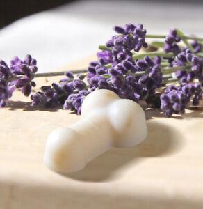 Penis Seife mit Lavendelöl (vegan)