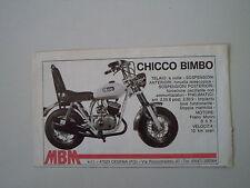 advertising Pubblicità 1976 MBM CHICCO BIMBO 50