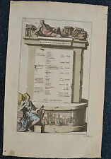 Antique Print-HEBREW BIBLE-HOLY BOOK-SCROLL-OLD TESTAMENT-JEW-ISRAEL-Goeree-1690