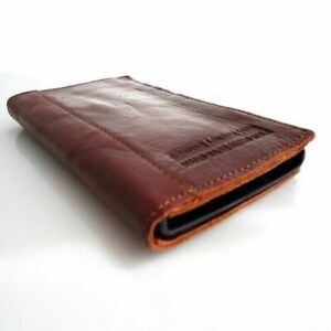 Genuine Full Soft Leather case for Nokia Lumia 920 book Wallet Cover Handmade