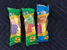 Muppets PEZ Miss Piggy Kermit Frog Fozzie Bear 3 Dispensers Jim Henson UNOPENED