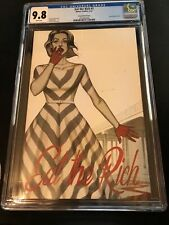 EAT THE RICH #1 (OF 5) COVER E 25 JENNY FRISON 1:25 SKETCH VARIANT CGC 9.8 BOOM