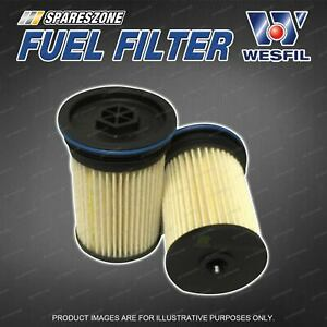 Wesfil Fuel Filter for Holden Captiva TD CG II Turbo Diesel 4Cyl 2.2 Ref. R2768P