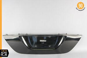 03-09 Mercedes W209 CLK500 CLK55 AMG Trunk Lid License Plate Holder Black OEM
