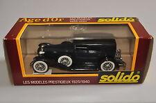 """E832 Solido """"Age d'Or"""" #55 1:43 1929 Cord L29 A+/a"""