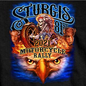 2021 Sturgis Shirt Black Hills Rally Motorcycle Rally South Dakota