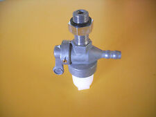 NOS FUEL TAP with Bowl 1/8 BSP   BSA  Enfield  AJS Villiers British