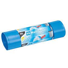 100 blaue Müllsäcke LDPE 120 l 110 cm x 70 cm Müllbeutel Abfallsäcke Mülltüten