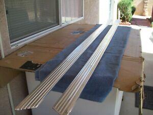 1961 62 63 64 Chevy Impala Standard Rocker Panel Moldings w/Clips Right & Left