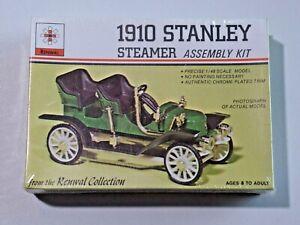 Vintage Renwal 1910 Stanley Steamer Assembly Kit 1:48 Scale NOS Sealed