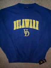 ($55) Delaware Blue Hens ncaa Jersey Sweatshirt Adult MEN'S/MENS (xl)