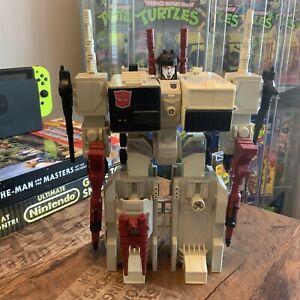 Transformers G1 Metroplex Action Figure Playset Vintage Robot Retro Autobot