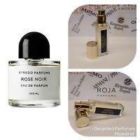 Byredo Rose Noir - 17ml/0.57oz Perfume extract based decant EDP, Fragrance Spray