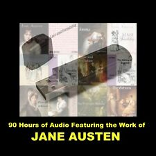 ULTIMATE JANE AUSTEN AUDIOBOOK. ENJOY ALL HER NOVELS & MORE IN YOUR CAR OR HOME!