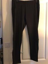 Black Stretch Sports Trousers Size X/L New