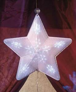 "19"" Lighted Animated 3D Shooting Star LED Show Motion of Lights Christmas Decor"