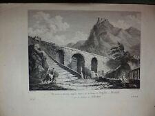 Neapel Italien Napoli Italia Paestum Salerno copperengraving 1813
