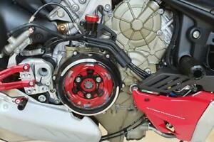 CNC Racing Clear Clutch Cover Conversion Kit For Ducati Streetfighter V4/S 20-21