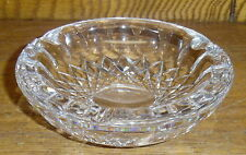"""Waterford Crystal 4"""" Ashtray - Colleen - 4 3/4"""" - Some Nicks"""