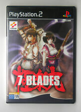 7 BLADES SONY PS2 PLAY STATION PS 2