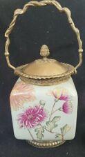 Castilian Porcelain Vase Urn Jar Floral Flower