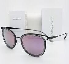 77b2dfe12c New Michael Kors sunglasses MK1025 12025R Black Lilac Mirror Cat AUTHENTIC  1025